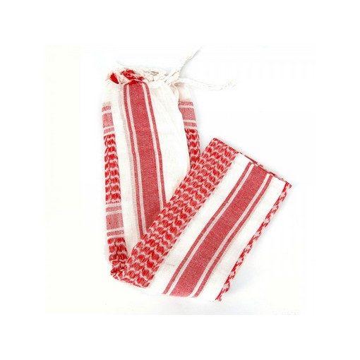 Echarpe Shemagh 110*110 cm Red White