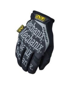 Gants airsoft Mechanix Original Ultimate Grip Gris/Noir Taille S
