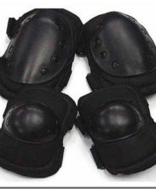 Genouilleres-Coudieres Airsoft Noir