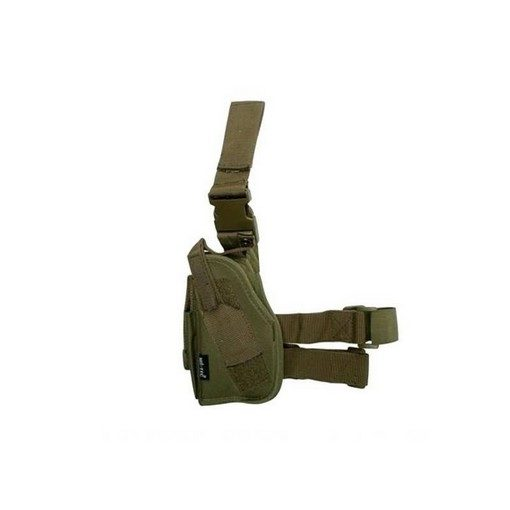 Holster cuisse Airsoft universel Gaucher Olive