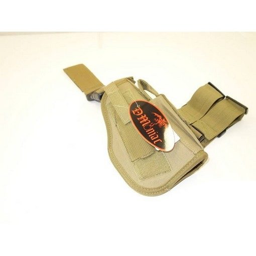 Holster de cuisse Airsoft Droit Coyote