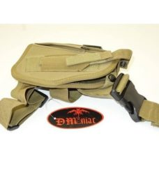 Holster de cuisse Airsoft Gaucher Coyote