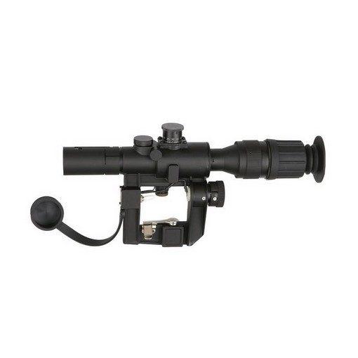 Lunette sniper 4x40 pour dragunov svd ASG
