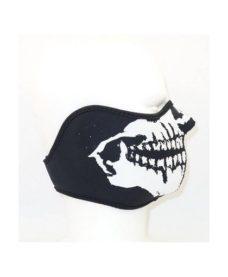 Masque Airsoft Tête de mort Noir