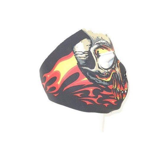 Masque néoprène Airsoft intégral Red zombie