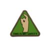 Patch Airsoft This is my safety PVC Velcro - Emerson