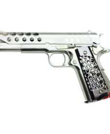 Pistolet 1911 WE Hex Cut Chrome GBB