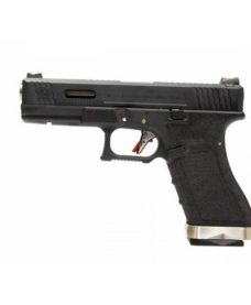 Pistolet WE S17 G-Force T5 Noir/Silver/Noir GBB