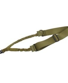 Sangle Bungee Tactique 1 Point Olive