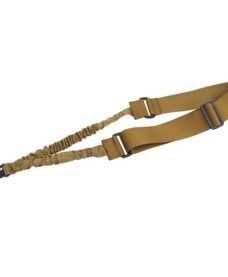 Sangle Bungee Tactique 1 Point Tan