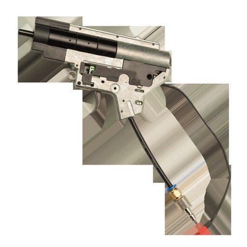 V12 ElectroPneumatique Airsoft Engine Type Gearbox V2