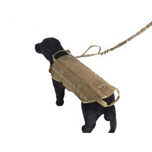 Veste tactique Airsoft Tactical Dog Training Taille M Coyote