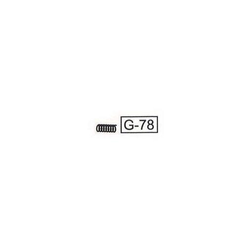 WE G-Series Auto Pièce G-78 Ressort pin sélecteur G18 / G23 / G26
