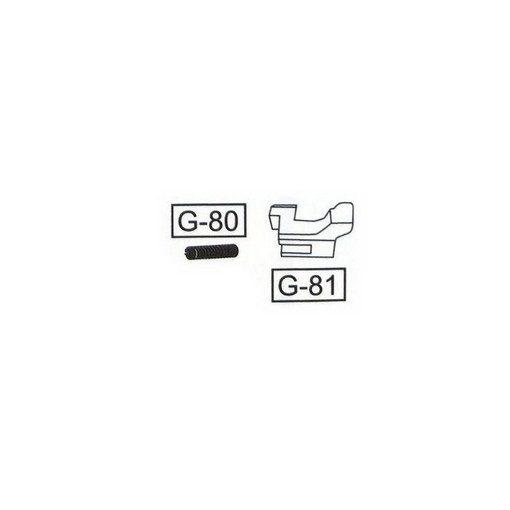 WE G-Series Auto Pièce G-81 Sélecteur + ressort G-80 G18 / G23 / G26