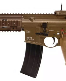 HK416 A5 GBB Tan VFC Full metal