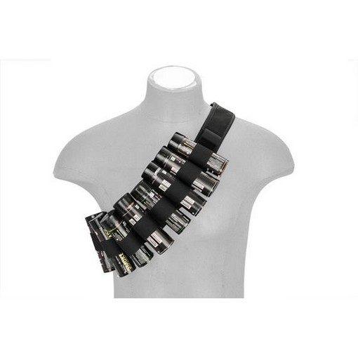 Ceinture Airsoft 10 Fumigenes Noire Hangten Belt