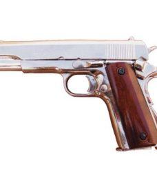 Colt 45 airsoft auto (M1911) chrome