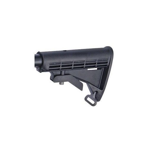 Crosse rétractable M15 M4 Noir Airsoft ASG