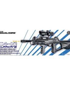 Fusil C4-X1 Hurricane KIT Noir Airsoft