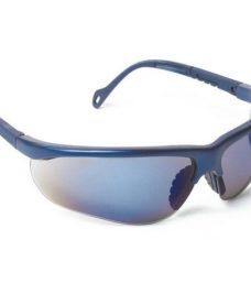 Lunettes de protection Airsoft bleues