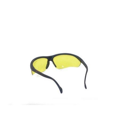 Lunettes de protection jaunes Airsoft