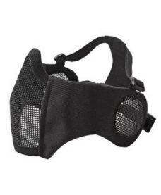Masque Stalker airsoft Métal + grille oreilles noir