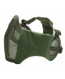 Masque Stalker airsoft Métal + grille oreilles vert