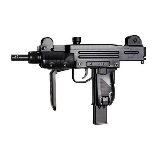 Pistolet mitrailleur Noir CO2 Blowback airsoft
