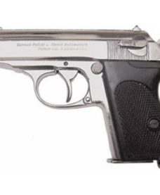 Pistolet SSPPK chrome airsoft