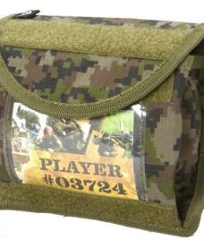 Poche Id Universelle Woodland digi Airsoft