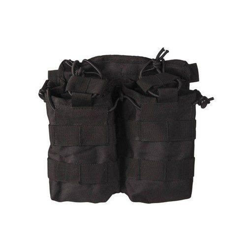 Porte chargeurs double M4 M16 Noir open top