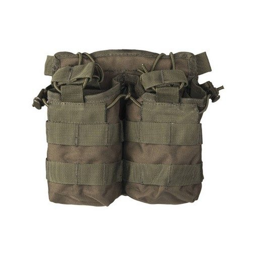 Porte chargeurs double M4 M16 Olive open top