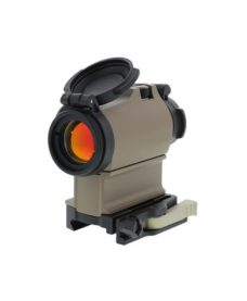 Red dot type AIM H2 + QD rail + Offset rail Alu Tan