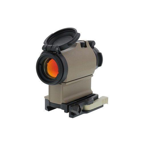 Red dot type AIM H2 + QD rail + Offset rail Alu Tan