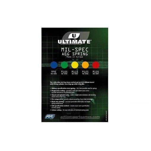 Ressort Upgrade M105 Vert ULTIMATE