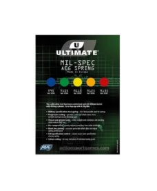 Ressort Upgrade M135 Rouge ULTIMATE