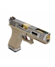S17 G-Force T4 Silver/Or/Tan GBB WE