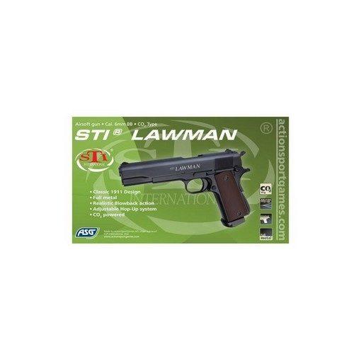 STI Lawman CO2 Blowback Métal