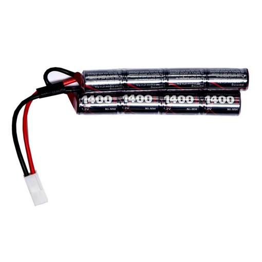 Batterie NiMH 9.6V 1400 mAh ASG