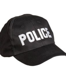 Casquette POLICE BK Airsoft