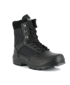 Chaussures / rangers airsoft noires zip T43/10