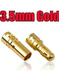 Connecteur A2  3.5 Gold airsoft - pack 4