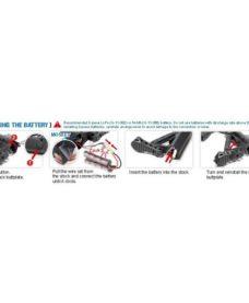 Fusil CM16 AEG airsoft FFR A2 G&G