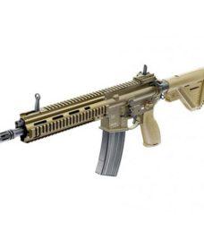 Fusil HK 416 A5 RAL8000 airsoft Full Métal GBB
