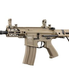 Fusil LT-34 AEG Proline GEN2 Enforcer Battle Hawk PDW 4' tan
