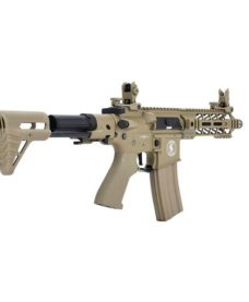 Fusil LT-34 AEG Proline GEN2 Enforcer Battle Hawk PDW 7' tan