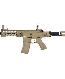 Fusil LT-34 AEG Proline GEN2 Enforcer Battle Hawk PDW 7' tan