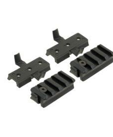 Kit rail pour Casque Fast noir duke