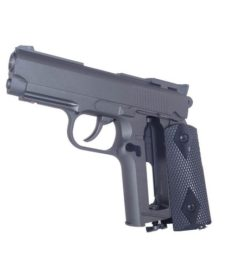 Pistolet 1911 compact Full Metal CO2 Fixe