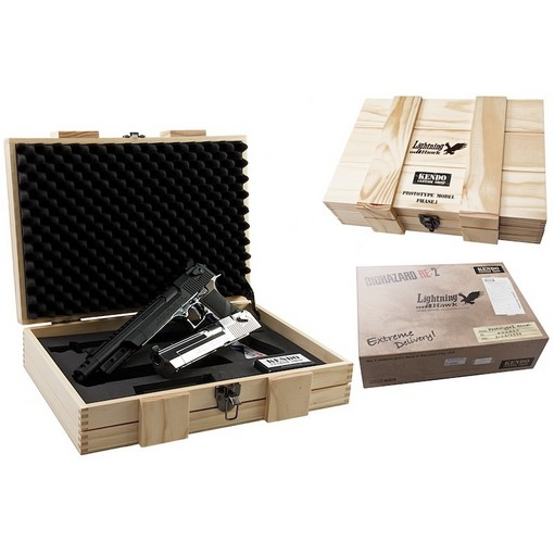 Pistolet Biohazard Lightning Hawk .50AE GBB Edition limitée